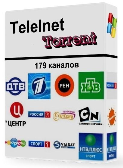 TeleInet Torrent 1.0 Portable - программа для просмотра торрент каналов Скачать