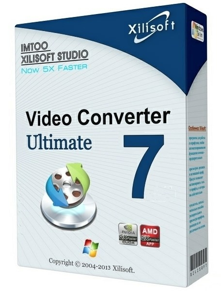 Xilisoft Video Converter Ultimate 7.8.21 Build 20170920 Final + patch [На русском]