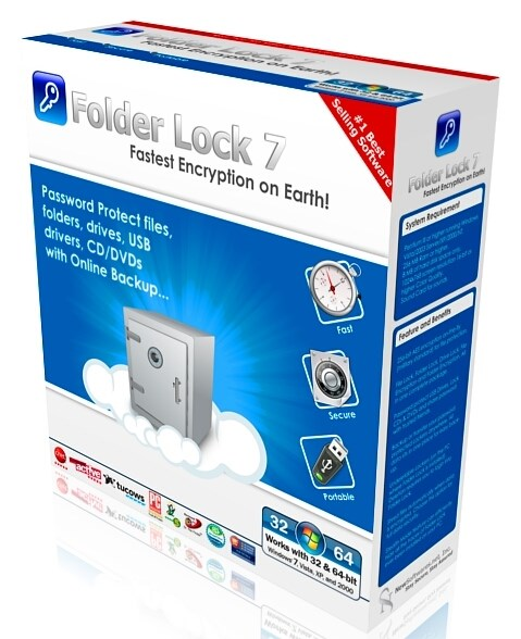Folder Lock 7.7.9 Final + ключ (2019) ENG
