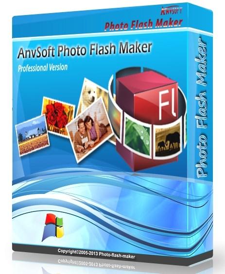 AnvSoft Photo Flash Maker Professional 5.57 Portable - для создания анимированных слайдшоу Скачать