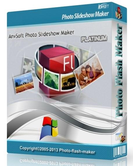 AnvSoft Photo Slideshow Maker Platinum 5.57 Portable - для создания фото слайдшоу Скачать