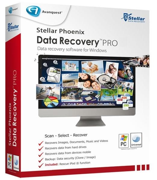 Stellar Phoenix Windows Data Recovery Professional 6.0.0.0 - для восстановления данных Скачать