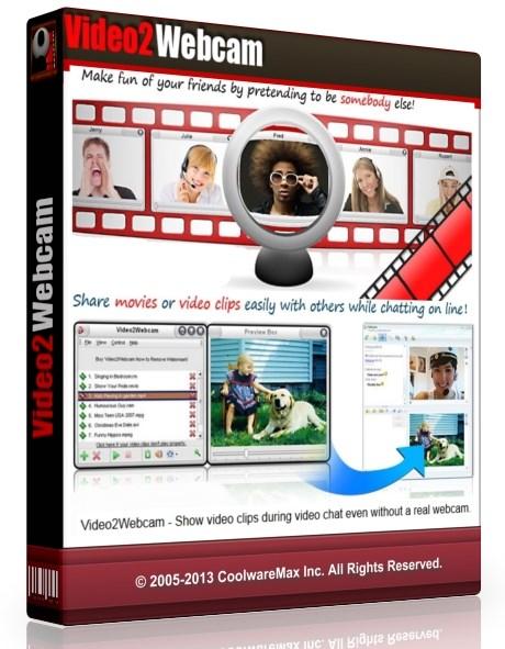 Video2Webcam 3.4.1.2 (2013/Patch) - программа для для общения в видео чатах Скачать