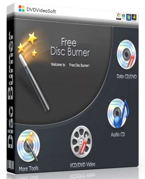 FREE Disc Burner 3.0.23.906 [На русском] - для записи данных на CD/DVD