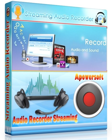 Apowersoft Streaming Audio Recorder 4.2.3 + cracked [Русификатор]