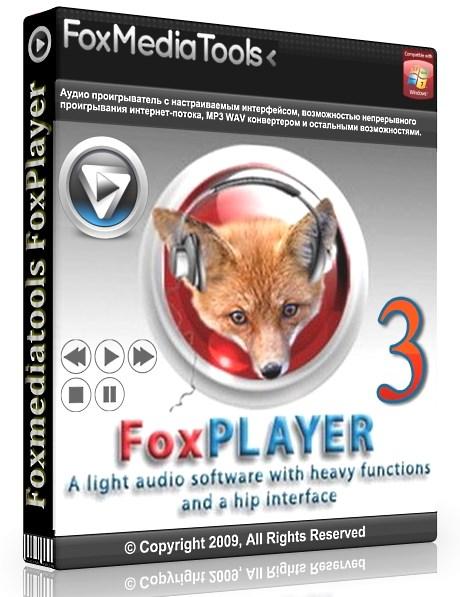 Foxmediatools FoxPlayer 3.2.0 - универсальный аудиоплейер Скачать