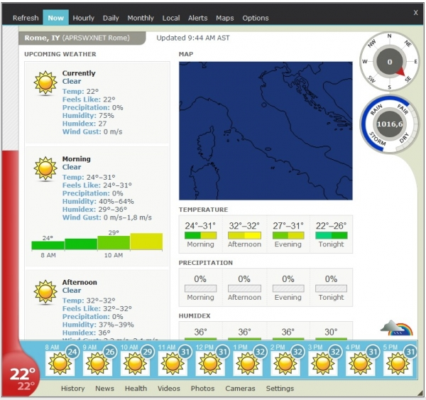 Weather Watcher Live 7.2.108 + patch (2017) ENG