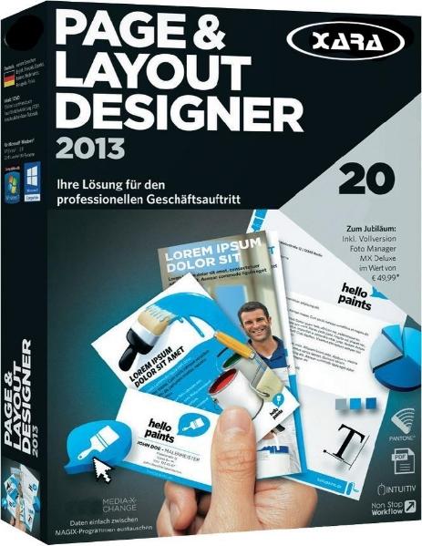 Xara Page & Layout Designer 9.2.0 - создать логотип, визитки, плакаты Скачать