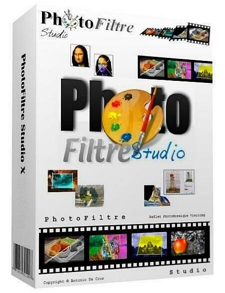 PhotoFiltre Studio X 10.13.1 + keymaker [На русском] + Portable