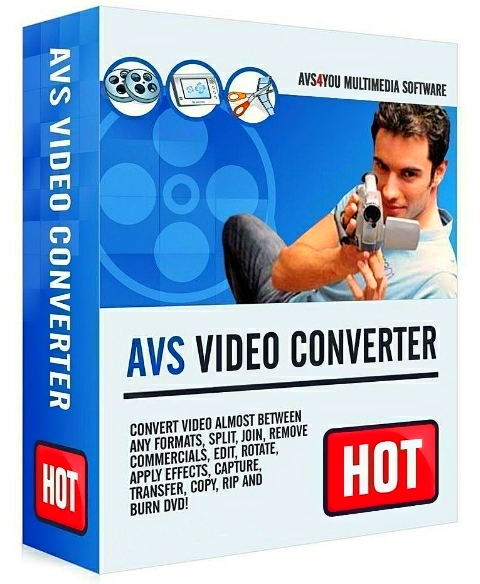 AVS Video Converter 12.0.1.650 + patch [На русском]