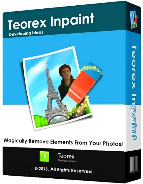 Teorex Inpaint 8.1 + ключ [На русском]