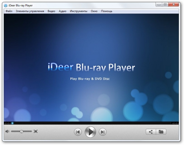 iDeer Blu-ray Player 1.11.7.2128 + cracked [На русском]