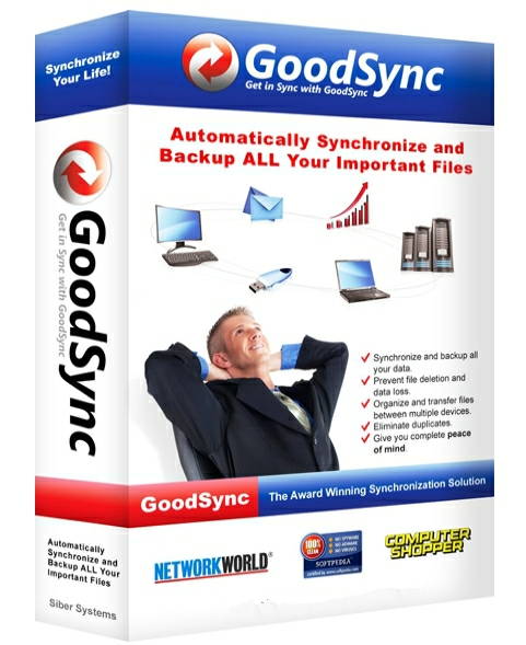 GoodSync Enterprise 10.9.30.3 + cracked [На русском]