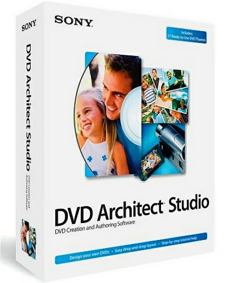 Скачать Sony DVD Architect Studio 5.0.186 Final + ключ [На русском]