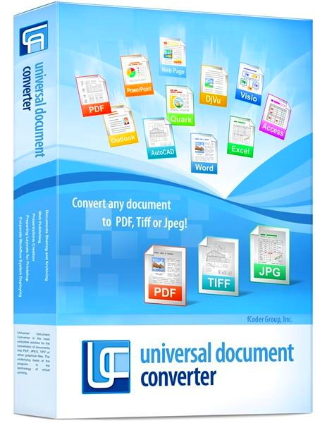 Universal Document Converter 6.8.1712.15160 + keygen [На русском]