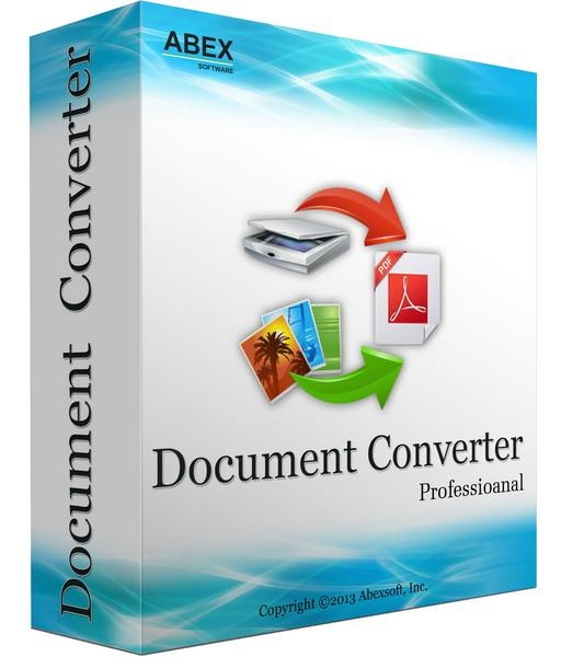 Abex Document Converter Pro 3.9.0 + patch - конвертер изображений, документов