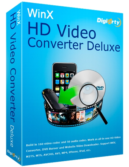 WinX HD Video Converter Deluxe 5.12.1.295 + patch [Русификатор]