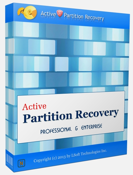 Active Partition Recovery Professional 15.0.0 + ключ (2015) ENG