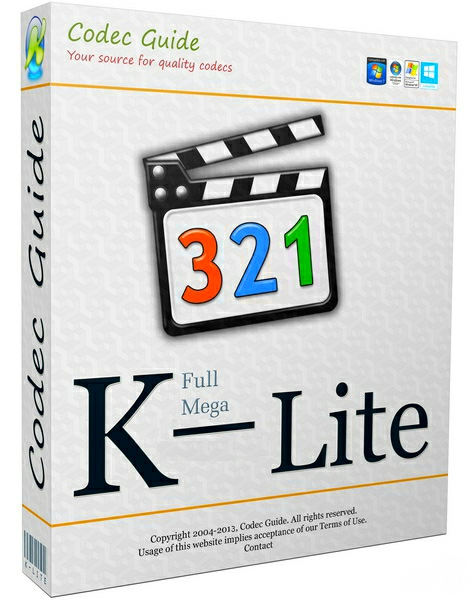 K-Lite Codec Pack Mega / Full / Basic / Standard 14.4.5 (2018)