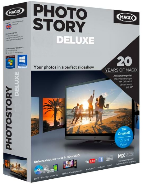 MAGIX Photostory 2020 Deluxe 19.0.1.16 + cracked (2019) ENG