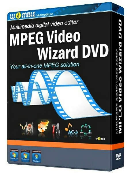 Womble MPEG Video Wizard DVD 5.0.1.112 (10/2015) + ключ [На русском]