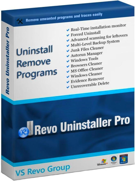 Revo Uninstaller Pro 4.0.1 Final + ключ [На русском]