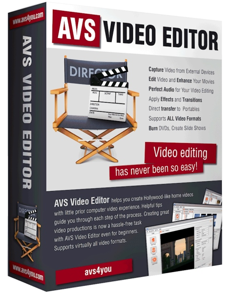AVS Video Editor 8.1.2.322 + patch [На русском]