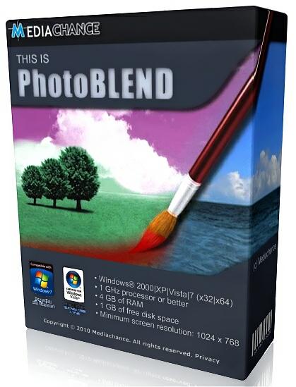 Mediachance Photo Blend 3D 2.3 DC 22.05.2015 + Portable (2015) ENG