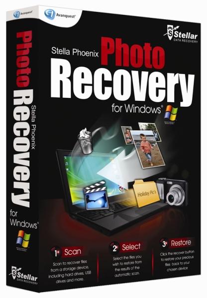 Stellar Phoenix Photo Recovery 6.0.0.1 DC 11.02.2014 + ключ - восстановить удаленные фотографии