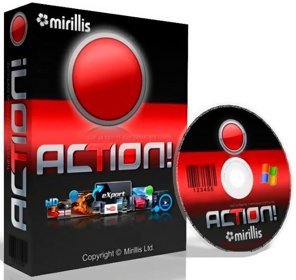 Mirillis Action! 3.10.1 Final + ключ [На русском]