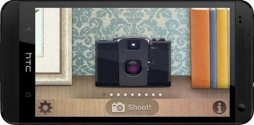 Lomo Camera Pro 1.0 - фотокамера для Android