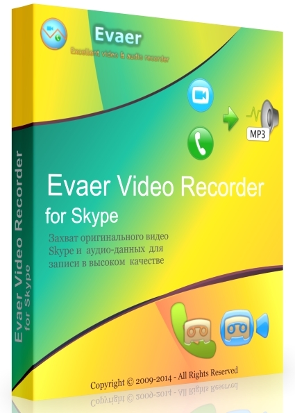 Evaer Video Recorder for Skype 1.9.9.3 + keygen [На русском]