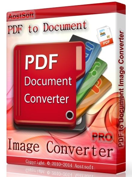 Aostsoft PDF to Document Image Converter Pro 3.9.4 + ключ (2016) ENG