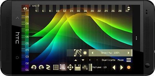 Virtual ANS 2.2b - симулятор синтезатора для андроид