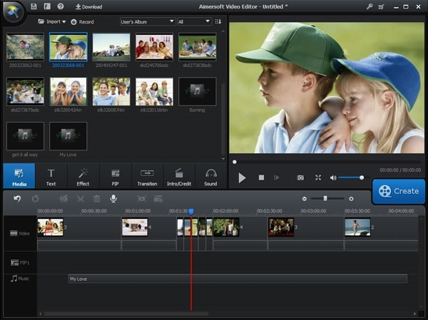 Aimersoft Video Editor 3.6.2.0 + ключ [Русификатор]