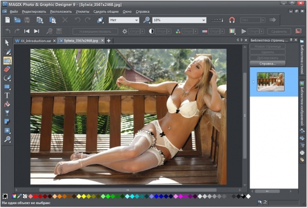 Magix Photo & Graphic Designer 9.2.8.32681 + ключ [Русская версия]