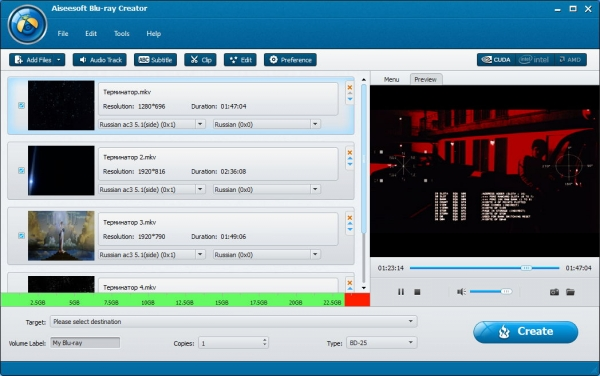 Aiseesoft Blu-ray Creator 1.0.16 Portable