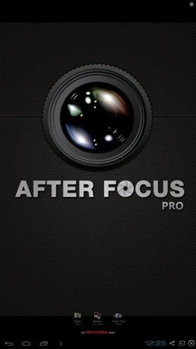 AfterFocus Pro 1.6.1 - для обработки фотографий на android