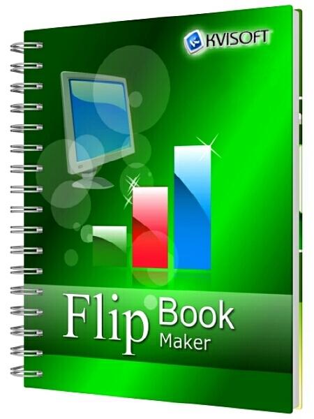 Kvisoft FlipBook Maker Pro 4.3.4.0 + Keygen (2015) ENG - создать фото-книги, 3d книги