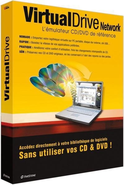 FarStone VirtualDrive Pro 16.01 Build 20140507 + ключ - эмулятор CD/DVD/Blu-ray