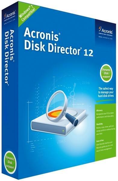 Acronis Disk Director 12.5 Build 163 Final + ключ [Официальная русская версия]