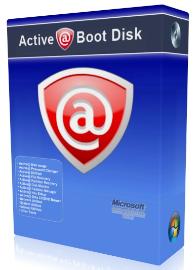 Active Boot Disk Suite 10.5.0 + ключ (2015) ENG