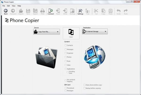 MOBILedit! Phone Copier 8.2.0.8057 + crack (2015) ENG
