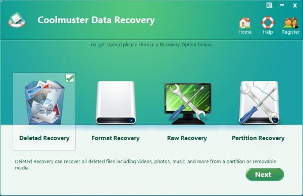 Coolmuster Data Recovery 2.1.4 + crack - восстановить удаленные данные
