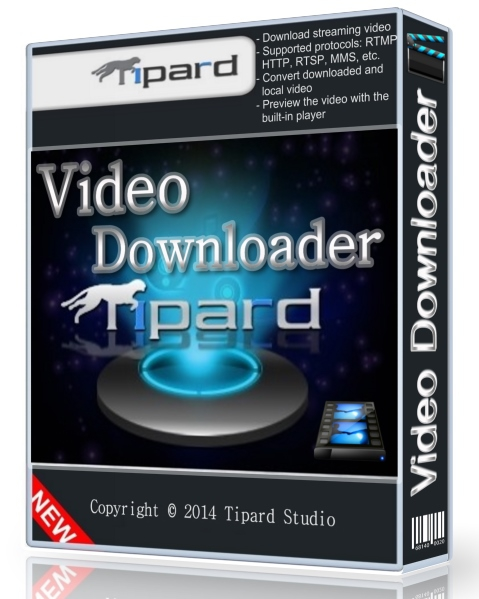 Tipard Video Downloader 5.0.12.37080 + cracked (онлайн видео загрузчик)