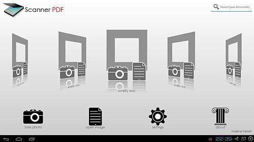 Scanner PDF Full 1.0 (мобильный сканер на android)