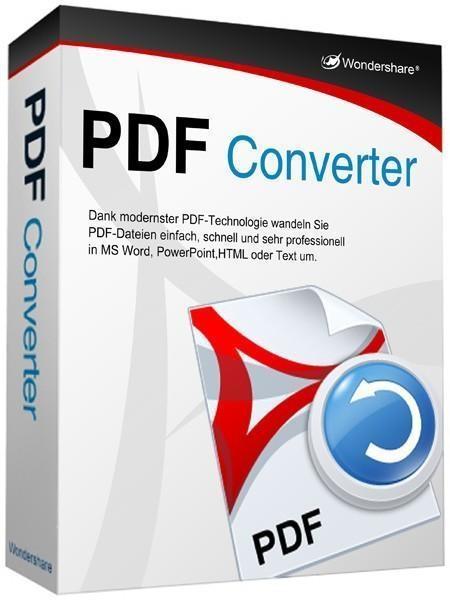 Wondershare PDF Converter Pro 4.1.0.3 (09.10.2015) + key [На русском]