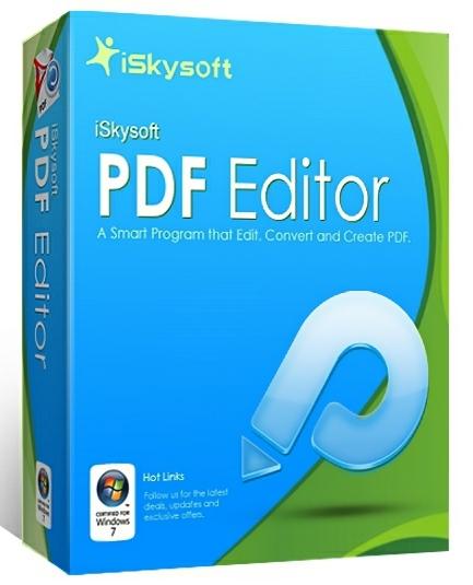 iSkysoft PDF Editor Pro 6.3.5.2806 + cracked (2017) ENG