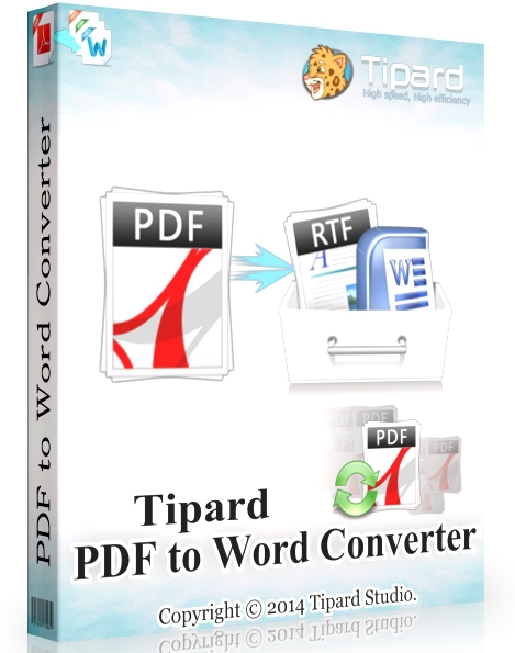 Tipard PDF to Word Converter 3.3.18 + cracked [Русификатор]