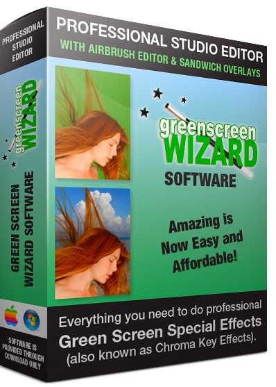 Green Screen Wizard Professional 10.6 + crack (2019) ENG